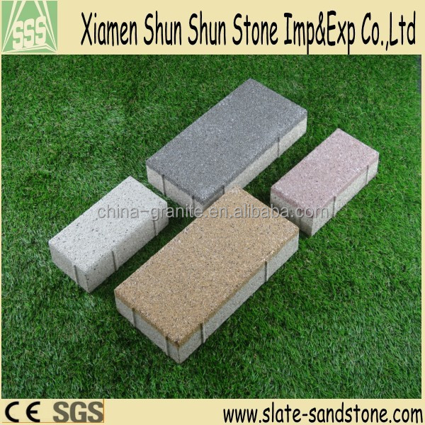 Good quality ecological water permeable ceramic brick for flooring