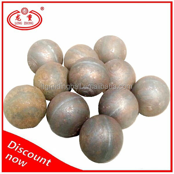 high density rolled and forged grinding steel ball for cement mill