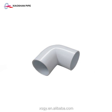 Wholesale high pressure pvc pipe fittings 90 degree elbow with factory price