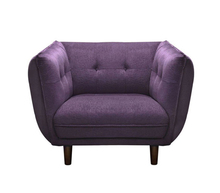 Diamond Collection Make Love Sex Sofa Chair With Tufted Fabric