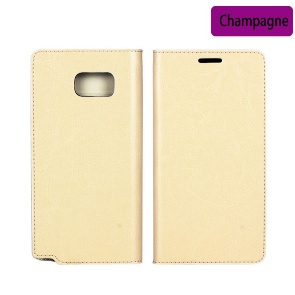 China Fatory Fashion Leather Magnetic Flip Wallet Cover For Samsung Galaxy Note 5 Case