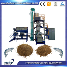 salmon tilapia catfish floating fish feed processing line