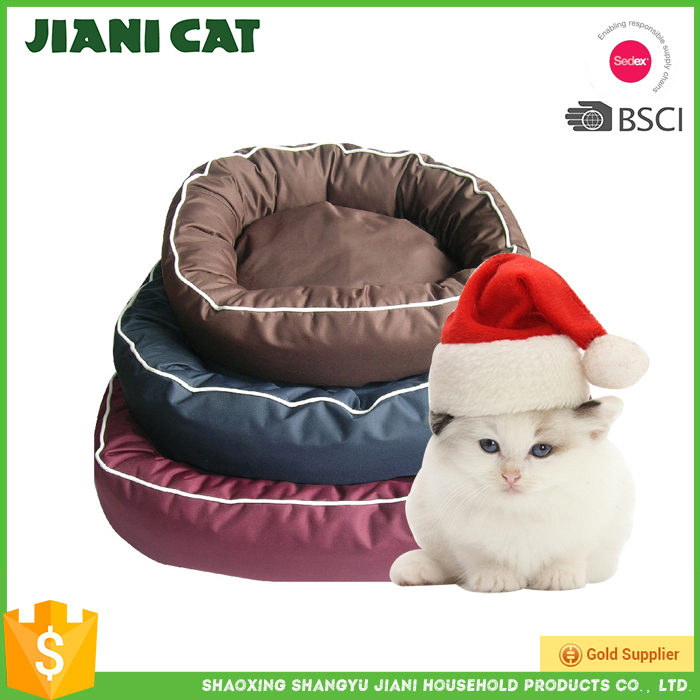 wholesale waterproof pet bed dog mat,cheap custom round shape oxford material Cat Mat