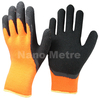 NMSAFETY best selling gloves winter use latex working glove