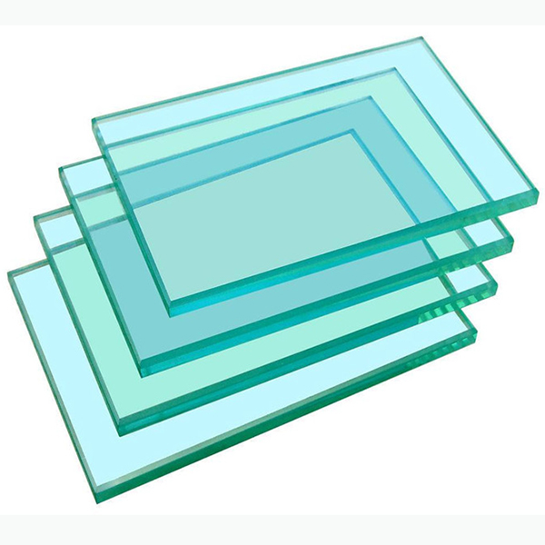 Tempered float 4mm thickness clear glass
