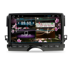 Big screen 10.2inch android 4.2 car dvd player with GPS for Toyota Reiz