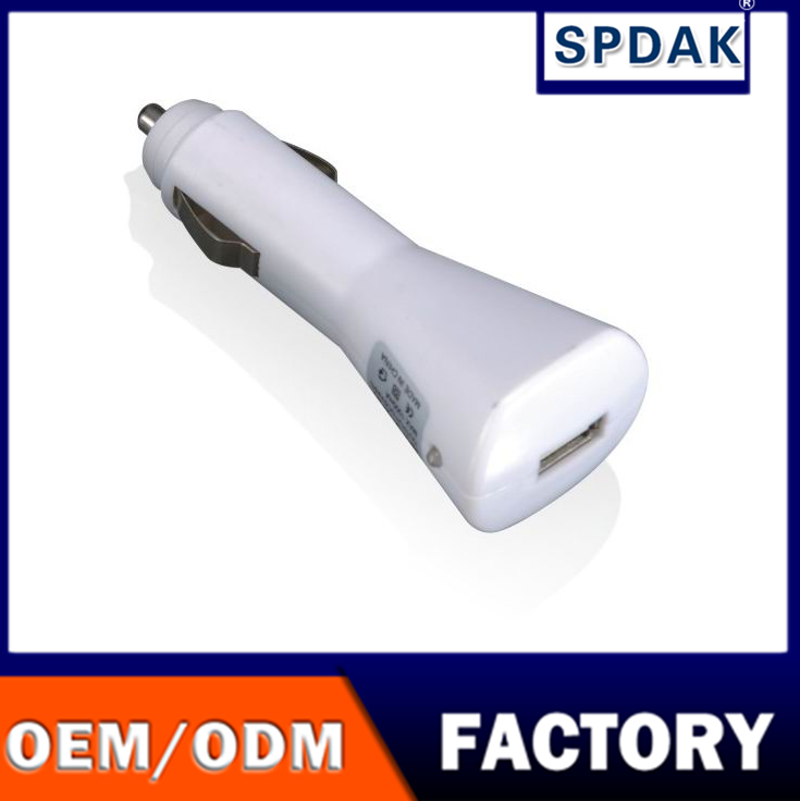 spdak brand Manufacturers CE ROHS FCC rockets head Single USB Fast Car Charger