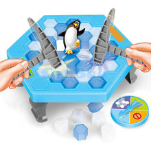 Funny Penguin Trap Interactive Indoor Board Game Ice Breaking Save The Penguin Parent-child Table Entertainment Toys Kids Gifts