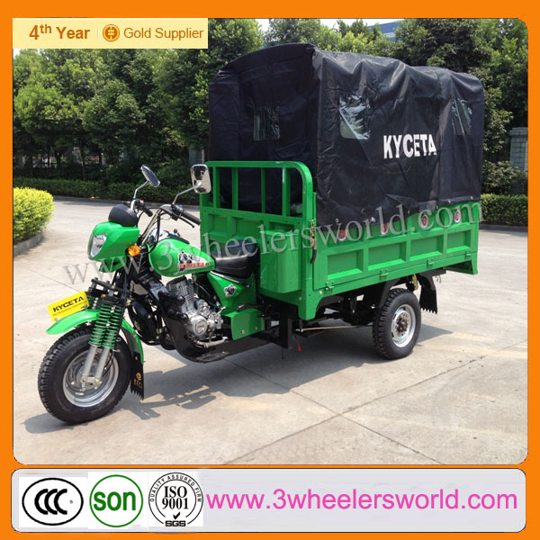 Made in China Best Price High Quality Heavy Duty Pedal Van Cargo Tricycle for Sale