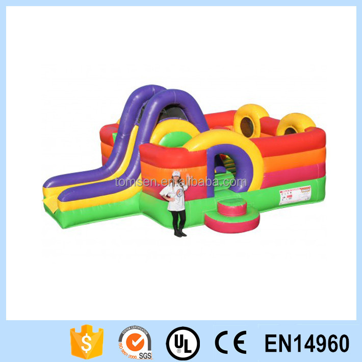 Cheap inflatable bouncers for sale jumping castle with slide and pool