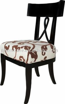 P097-UK dining chairs solid beech wood