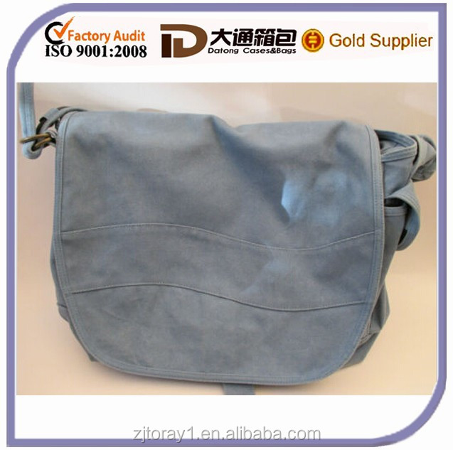 Single Long Handle Strap Messenger School Book Shoulder Bag