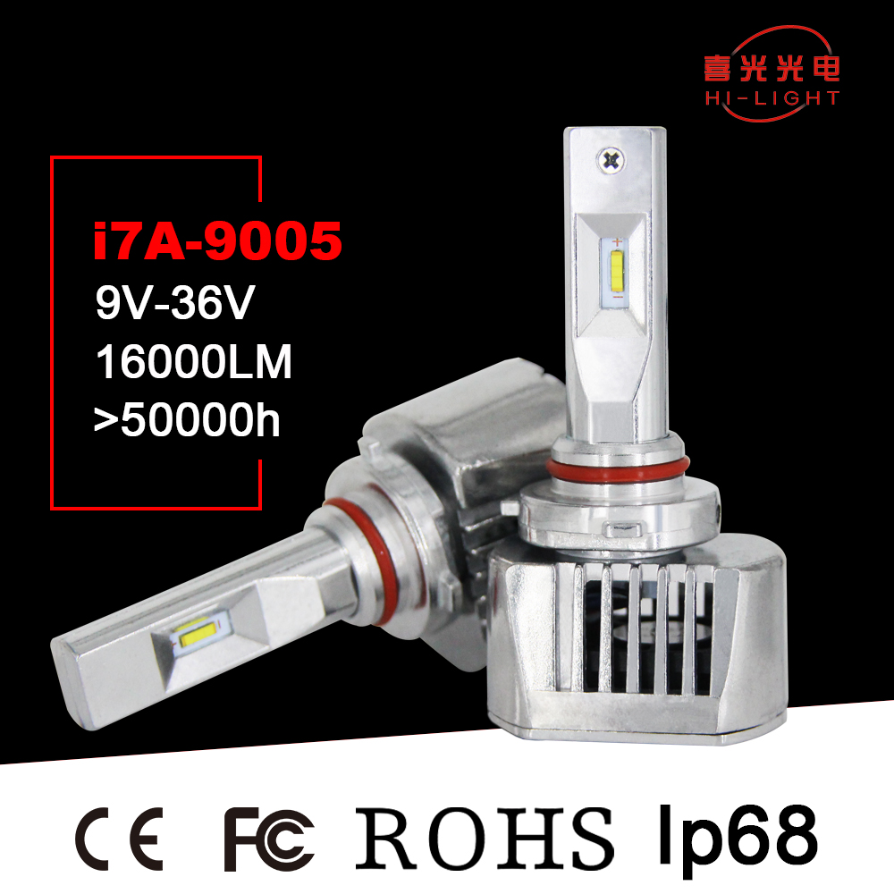 h1 Car LED Bulbs 72W 9600LM 6000K Car Headlamp high beam 9005 LED Headlight for toyota corolla accessorie