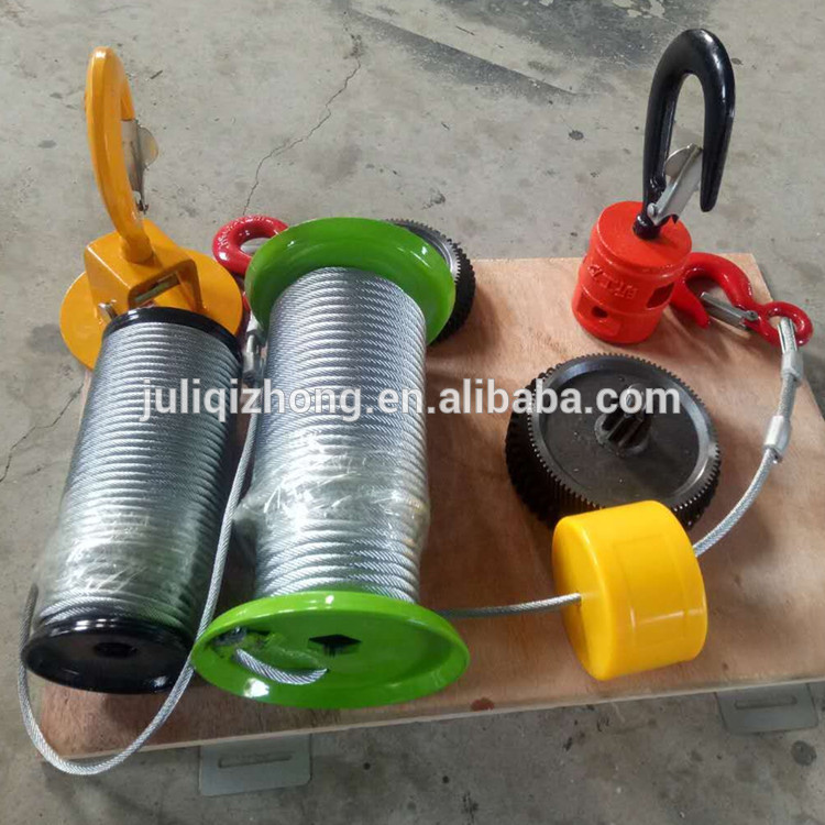 Low price electric pulling lifting winch with remote control