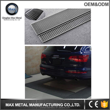 Hot sale MOQ=10pcs stainless steel heavy duty grating trench floor drain cover, water drainage channel