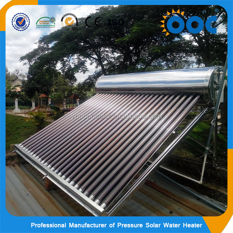 2017 Intelligent Controller Non Pressure Compact Solar Water Heater
