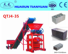QTJ4-35B small manual concrete block/brick making machine for sale ,cement block maker price with good quality