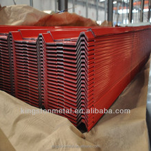 Prime color coated corrugated metal roofing sheet with cheaper price from Tianjin,China