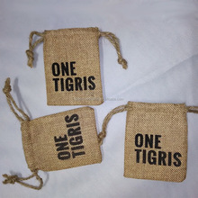 Custom Premium jute pouches for packing snacks,snack pouch bags