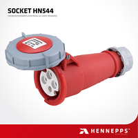 Hennepps IP67 400V 16A 4 Pins Welding Plug And Sockets