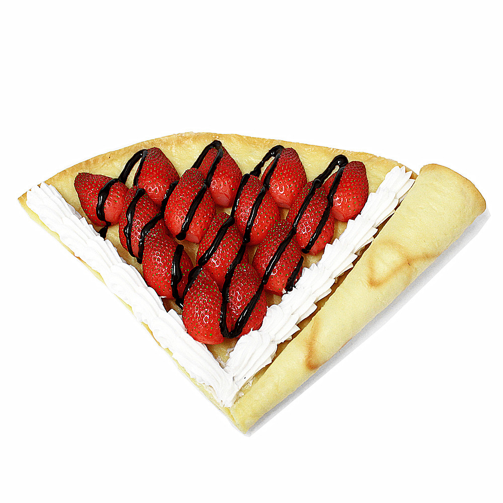decorative artificial plastic faux food fake crepe model