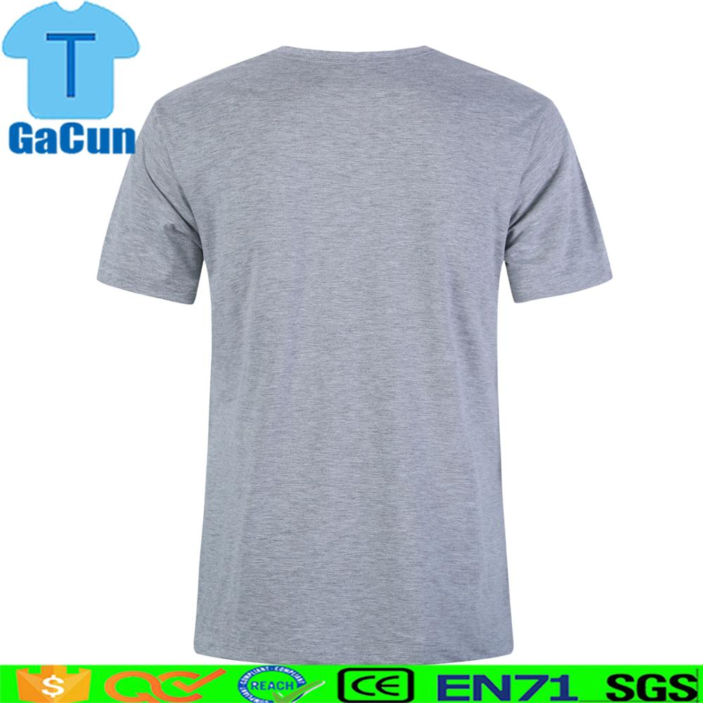 100% cotton plain t shirts for OEM