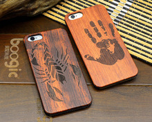 Hybrid cover for Apple iPhone 8 carved wood case;eagle wing,tower,flower wood case for Apple iPhone 8 mobile cover custom design