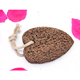 High quality natural lava heart shape pumice stone block brick for foot washing
