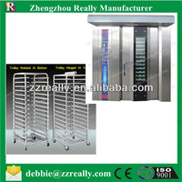 RL-G100 New arrival 32 trays gas rotary bakery oven prices