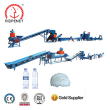 Rope Net Manufacture waste pet bottle and flakes recycling and washing