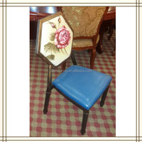 stylish bistro chair/ bistro chair for sale/ leather bistro chair (AL90)