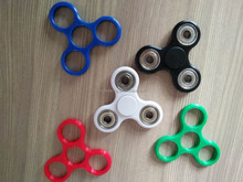 Tri-Spinner Fidget Toy EDC Hand Finger ABS restless toy with 608 hybrid ceramic bearing