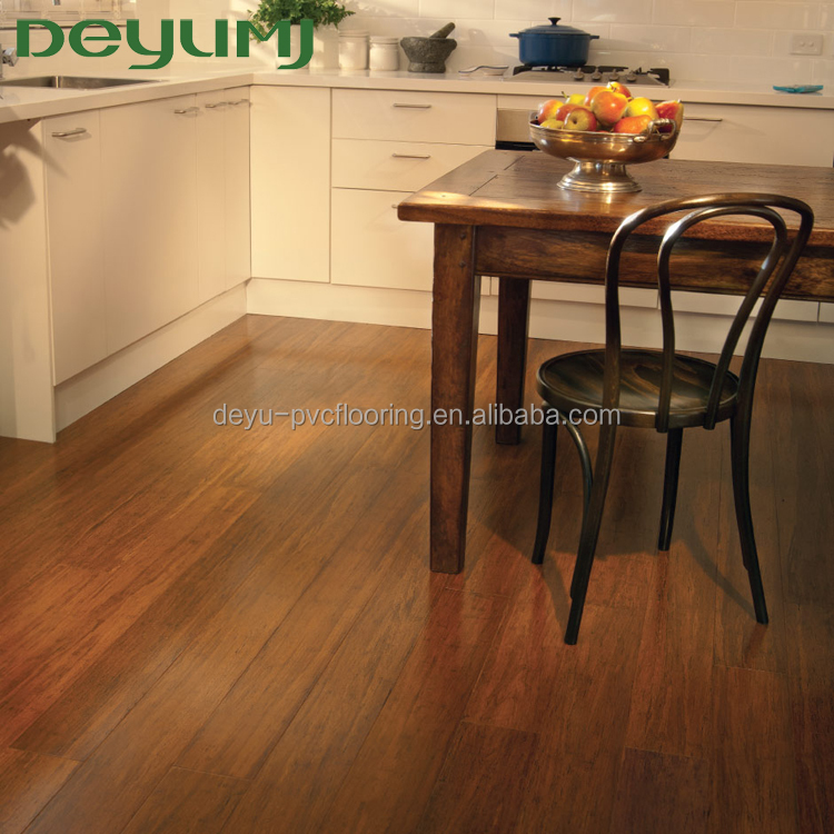 Luxury wood texture factory sale kitchen floor coverings