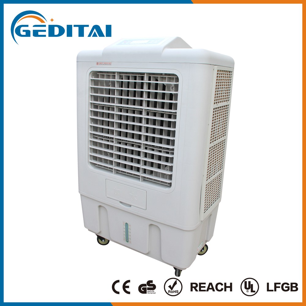 Industrial Air Coolers : Industrial outdoor portable evaporative water air cooler