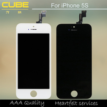 Mobile repair parts for apple iPhone 5s, for iPhone 5 lcd assembly with digitizer, original for iPhone 5 lcd display
