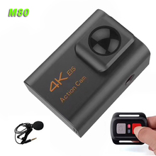 Hot sale 4K action camera sport dv 1080p firmware with External microphone M80 action camera