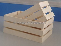 Cheap wooden fruit crates