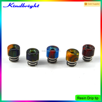 Hottest!! 2016 New design Resin Drip tip/air force one rda/Kennedy 22 RDA clone