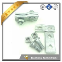 ADSS Cable Fittings Dead End Tension Clamp