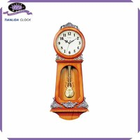 plastic pendulum wall clock time clock
