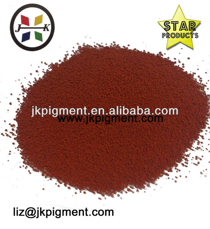2013 new Inorganic colour Pigment granule red iron oxide
