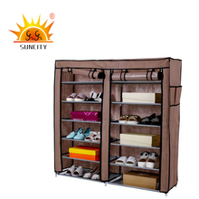 Top sale Luxury non-woven shoe cabinet on diy shoe rack