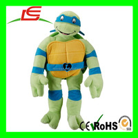 Nickelodeon Teenage Mutant Ninja Turtles I Love TMNT Plush Throw Pillow Toys, Leonardo