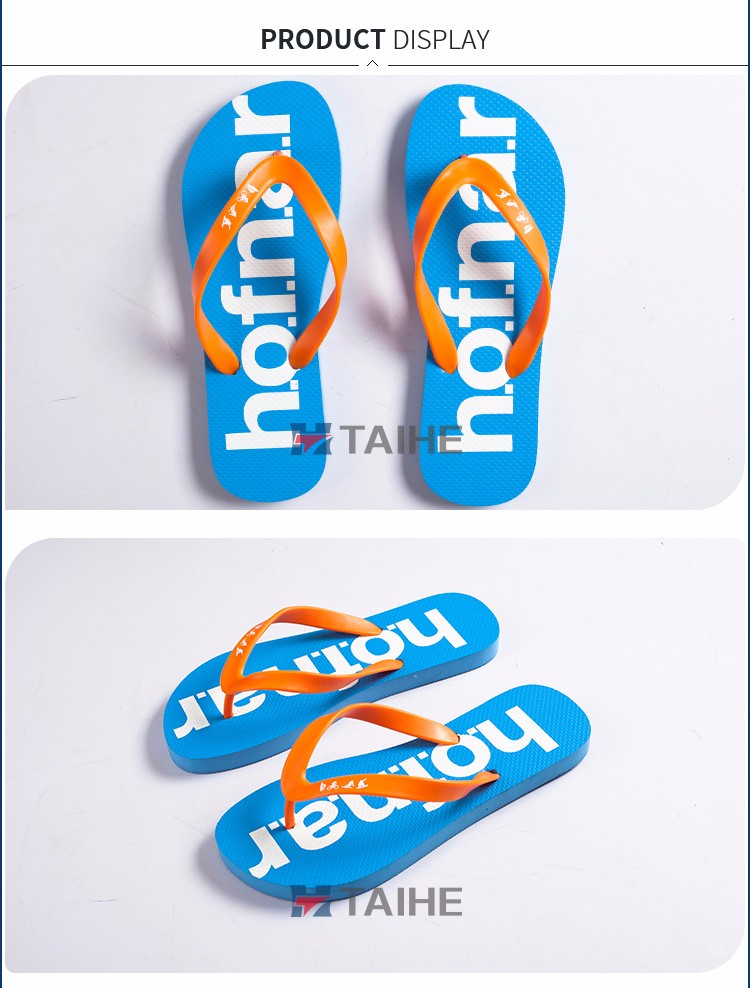 custom summer high quality rubber flip flops slipper manufacturer