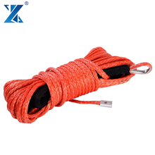 J-MAX 12 strand 4x4 winch 12v synthetic rope 12000 lb load capacity cable winches rope