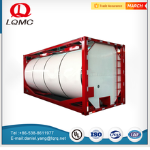 Iso certification fuel storage tank container