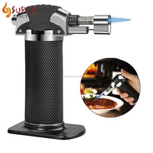 Cooking Torch Kitchen Blow Torch Jet Flame Lighter Refillable Cigarette Cigar Lighters Butane Gas Fuel Welding Soldering Lighter