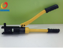 Portable YQK-120 Hydraulic Cable Lug Crimping Tool With Automatis Safety Set For Crimping Terminal