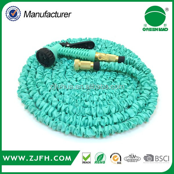 [GREENLAND]2016 Hot product 75FT Magic Hose With Spray Nozzles Expandable Garden Hose Flexible Stretch Hose As Seen On TV