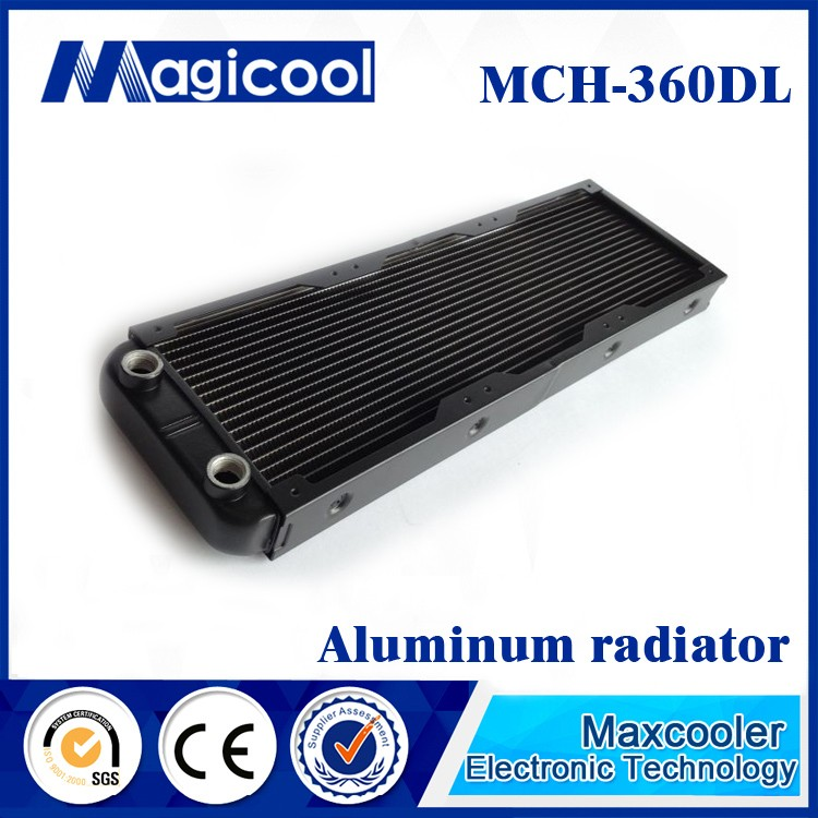 Best Quality aluminum Radiator for computer , 33mm thickness and 240mm length,Liquid cooling radiator,water cooling radiator